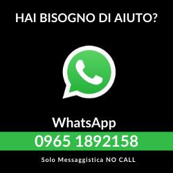 Ricevi assistenza tramite Whatsapp